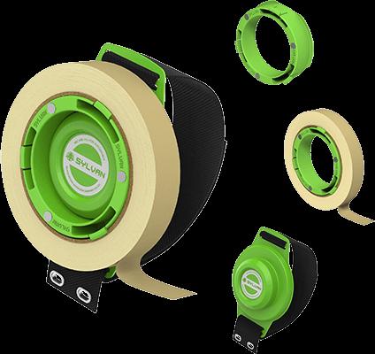 磁性胶带箍-转轮|森万